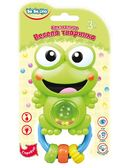 Погремушка Веселое животное Лягушонок (укр. упаковка), BeBeLino от BeBeLino (Бебелино)