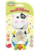 Погремушка Веселое животное Коровка (укр. упаковка), BeBeLino от BeBeLino (Бебелино)