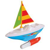Развивающая игрушка – ПАРУСНИК (для игры в ванной) от Kiddieland (Киддиленд)