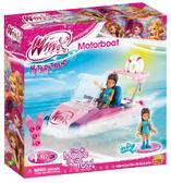 Конструктор Моторная лодка, серия Winx Club, Cobi
