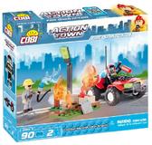 Конструктор Пожарный квадроцикл, серия Action Town, Cobi