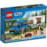 Фургон и дом на колёсах, Серия Lego City от Lego