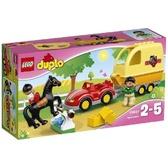 Трейлер для перевозки лошади (10807) Серия Lego Duplo от Lego