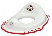 Накладка на унитаз Hello Kitty с нескользящими резинками, белая. Maltex от Maltex