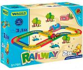Железная дорога 3,1 м Kid Cars, Wader от Wader
