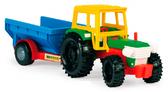 Трактор з прицепом от Wader