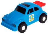 Авто-арбуз - машинка, Wader, синяя от Wader