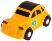 Авто-жучок - машинка, Wader, желтая 10 × 12 × 22 см. от Wader