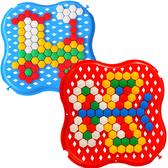 Развивающая игрушка Мозаика, красная и синяя, Тигрес, красно-синий от Тигрес