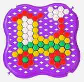 Развивающая игрушка Мозаика мини фиолетовая, Тигрес, фиолетовый от Тигрес