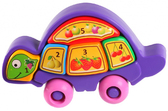 Развивающая игрушка Черепашка (пазлы) фиолетовая, Тигрес, фиолетовый от Тигрес