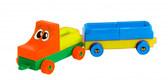 Конструктор Чудо-авто мини 14 элементов, Тигрес, красная кабина от Тигрес