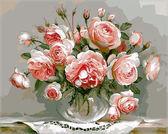 Розовый букет,40 х 50 см