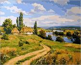 Украинский пейзаж 2, 40 х 50 см