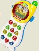 Игрушка развивающая муз. Телефон , батар . , Рус.язык , в кор. от Країна іграшок