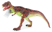 Горгозавр- хищные челюсти, 28 см, коричнево-зеленый