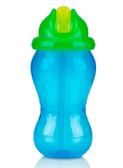 Поильник с трубочкой Flip-It (300ml), сине-зеленый