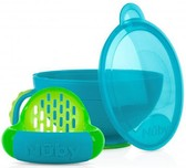 Набор для кормления , голубой с зеленым от NUBY (Нуби)