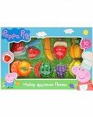 Игровой набор Peppa - Набор фруктов Пеппы (10 предметов)