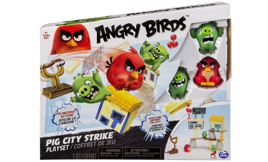 Angry Birds:  средний игровой набор   Angry Birds, Черная птица