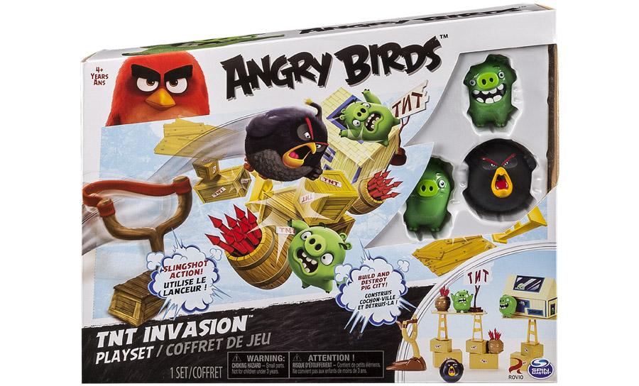 Angry Birds:  средний игровой набор  Angry Birds, Красная птица