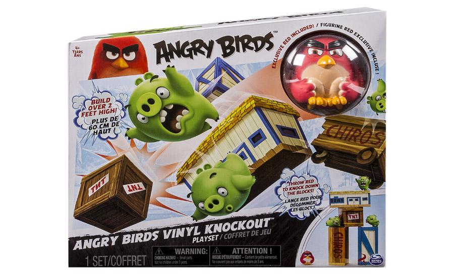 Angry Birds:  большой игровой набор  Angry Birds