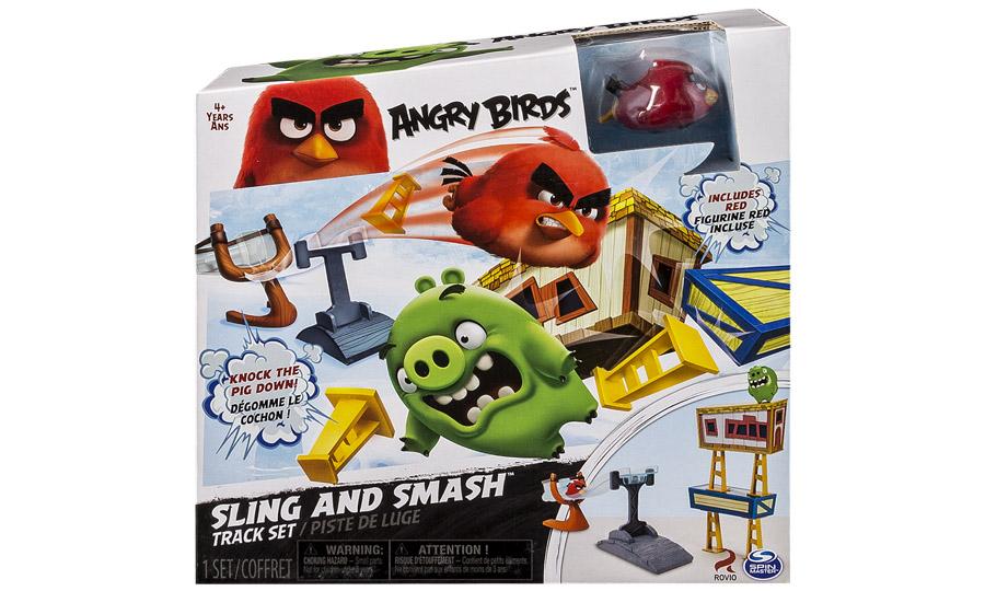 Angry Birds:  большой игровой набор с пусковым устройством  Angry Birds