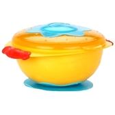 Тарелка для СВЧ-печи на присоске с крышкой Улёт! Посуда! Nuby (оранжевая) от NUBY (Нуби)