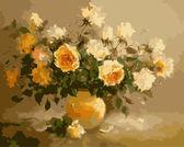 Слезы на розах худ. Колодежская Елизавета 40 х 50 см