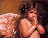 Ангелочек худ. Ноэл Ненси 40 х 50 см