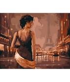 Париж в старинных тонах 40 х 50 см