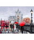 Осень в Лондоне  40 х 50 см