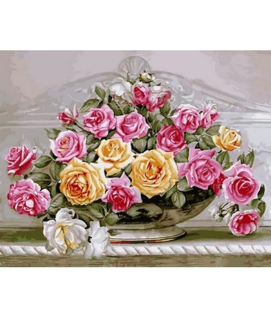 Роскошные розы 40 х 50 см