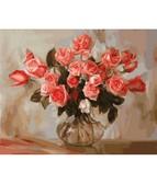 Коралловые розы 40 х 50 см