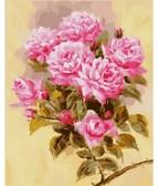 Розовая ветвь 40 х 50 см