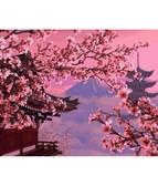 Японский пейзаж 40 х 50 см