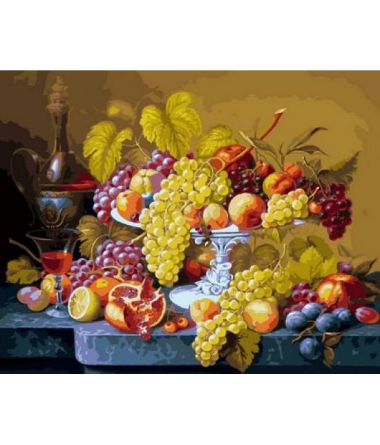 Роскошный виноград  40 х 50 см