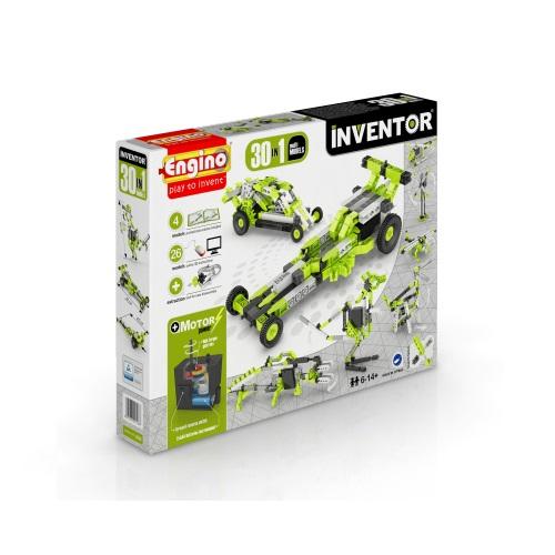 Конструктор серии INVENTOR MOTORIZED 30 в 1 с электродвигателем