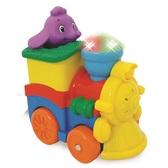 Развивающая игрушка - ПАРОВОЗИК СЛОНИКА (фигурка слоника, свет, звук) от Kiddieland (Киддиленд)