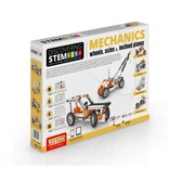 Конструктор серии STEM - Механика: колеса, оси и наклонные плоскости от Engino