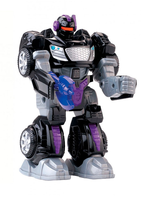 Робот-трансформер М.А.R.S. (чёрный), Hap-p-kid, черный