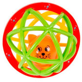 Погремушка-шарик Шустрый котёнок,  Kiddieland от Kiddieland (Киддиленд)