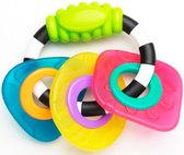 Прорезыватель для зубов погремушка Геометрические формы, Playgro от PLAYGRO
