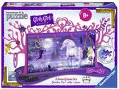 Пазл 3D Girly Girl Подставка для украшений Единорог 108 эл., Ravensburger