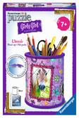 Пазл 3D Girly Girl Подставка для карандашей Лошади 54 эл., Ravensburger