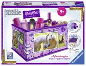 Пазл 3D Girly Girl Шкатулка Лошади 216 эл., Ravensburger