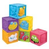 Детские мягкие кубики с животными, 6 шт. Redbox от Redbox