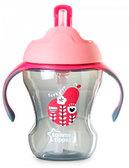 Чашка-непроливайка Explora, малиново-розовая (230 мл), Tommee Tippee, малиново-розов. от Tommee Tippee(Томми Типпи)