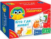 Мини-игры Кто где живет (рус. язык), Vladi Toys от Vladi Toys (ВладиТойс)