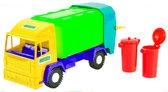 Mini truck - игрушечный мусоровоз (желтая кабина), Wader , желтая кабина от Wader